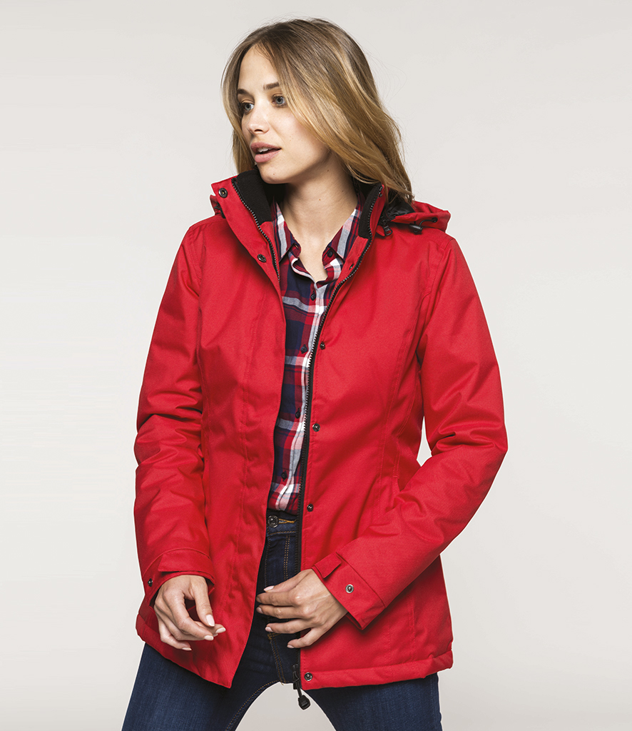 Kariban Ladies Ladies Parka Jacket Kb6108 Kariban Jacket Ladies Kb6108 Kariban Kb6108 Parka F1TJKcl